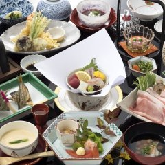 Отель Tsuetate Keiryu no Yado Daishizen Япония, Минамиогуни - отзывы, цены и фото номеров - забронировать отель Tsuetate Keiryu no Yado Daishizen онлайн питание фото 3