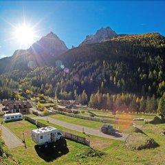 Отель Vidor Resort Долина Валь-ди-Фасса приотельная территория фото 2