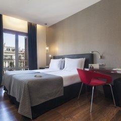 Отель Exe Ramblas Boqueria Испания, Барселона - 2 отзыва об отеле, цены и фото номеров - забронировать отель Exe Ramblas Boqueria онлайн комната для гостей фото 3