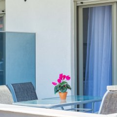 Отель Nymphes Deluxe Accommodation Греция, Пефкохори - отзывы, цены и фото номеров - забронировать отель Nymphes Deluxe Accommodation онлайн балкон