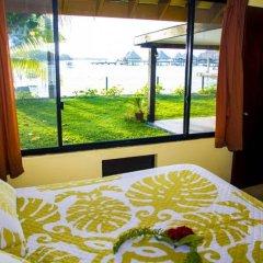 Отель Fare Matira Французская Полинезия, Бора-Бора - отзывы, цены и фото номеров - забронировать отель Fare Matira онлайн комната для гостей фото 3