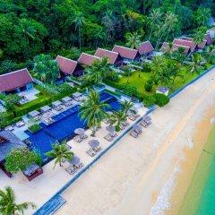 Отель InterContinental Samui Baan Taling Ngam Resort пляж