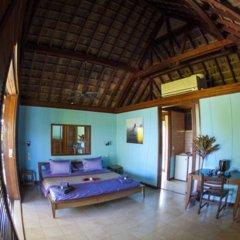 Отель Oa Oa Lodge Французская Полинезия, Бора-Бора - отзывы, цены и фото номеров - забронировать отель Oa Oa Lodge онлайн комната для гостей фото 2