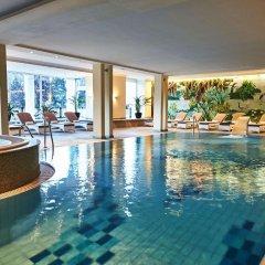 Отель Steigenberger Grandhotel Belvedere Швейцария, Давос - 1 отзыв об отеле, цены и фото номеров - забронировать отель Steigenberger Grandhotel Belvedere онлайн бассейн