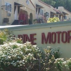 Отель The Alpine Inn & Suites балкон