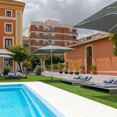 Отель Soho Boutique Jerez & Spa Испания, Херес-де-ла-Фронтера - отзывы, цены и фото номеров - забронировать отель Soho Boutique Jerez & Spa онлайн бассейн фото 3
