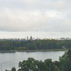Отель Holiday Inn West Ruoholahti Хельсинки приотельная территория