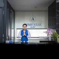 Отель Apartelle Jatujak Hotel Таиланд, Бангкок - отзывы, цены и фото номеров - забронировать отель Apartelle Jatujak Hotel онлайн интерьер отеля