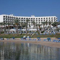 Отель The Golden Coast Beach Протарас приотельная территория