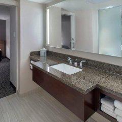 Отель Newark Liberty International Airport Marriott США, Ньюарк - отзывы, цены и фото номеров - забронировать отель Newark Liberty International Airport Marriott онлайн ванная