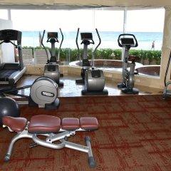 Отель Sunset Fishermen Beach Resort Плая-дель-Кармен фитнесс-зал фото 2
