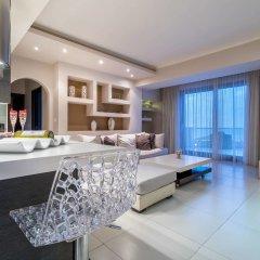 Отель Kymothoe Elite Греция, Закинф - отзывы, цены и фото номеров - забронировать отель Kymothoe Elite онлайн комната для гостей фото 3