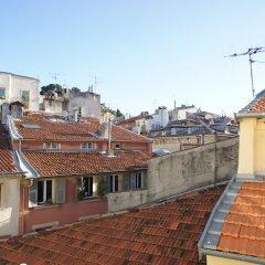 Отель Vieux Nice - Cathédrale - Coulée Verte Ницца балкон