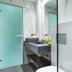 Отель Nymphes Deluxe Accommodation Греция, Пефкохори - отзывы, цены и фото номеров - забронировать отель Nymphes Deluxe Accommodation онлайн ванная фото 2