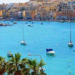 Отель Mediterranea Мальта, Марсаскала - отзывы, цены и фото номеров - забронировать отель Mediterranea онлайн пляж фото 2