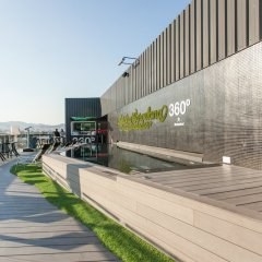 Отель Barcelo Raval Барселона приотельная территория фото 2