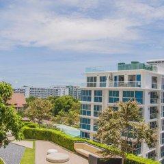 Отель Baan Plai Haad Beachfront Condominium Паттайя пляж