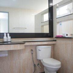 Отель Q Space Residence Бангкок ванная