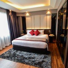 Отель Ramada Plaza by Wyndham Bangkok Menam Riverside комната для гостей