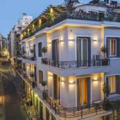 Kimon Hotel Афины вид на фасад