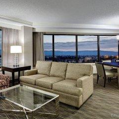Отель Crowne Plaza San Jose-Silicon Valley комната для гостей фото 5