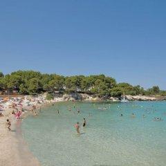 Отель Beach Club Font de Sa Cala пляж