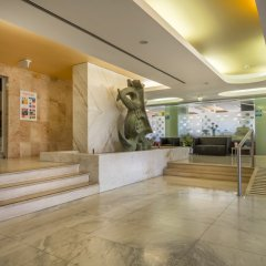 Отель Interpass Vau Hotel Apartamentos Португалия, Портимао - отзывы, цены и фото номеров - забронировать отель Interpass Vau Hotel Apartamentos онлайн интерьер отеля