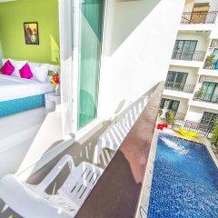 Отель The Frutta Boutique Patong Beach балкон