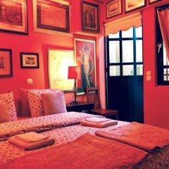 Отель Gallery Basement in Villa Vravrona Греция, Markopoulo Mesogaias - отзывы, цены и фото номеров - забронировать отель Gallery Basement in Villa Vravrona онлайн комната для гостей фото 3