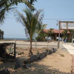 Отель Bungalos Sol Dorado Мексика, Коакоюл - отзывы, цены и фото номеров - забронировать отель Bungalos Sol Dorado онлайн пляж фото 2
