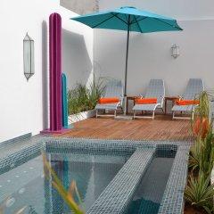 Отель Riad Dar Dar Марокко, Рабат - отзывы, цены и фото номеров - забронировать отель Riad Dar Dar онлайн бассейн фото 2