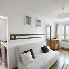 Апартаменты Sopockie Apartamenty - Seagull Apartment Сопот комната для гостей фото 2