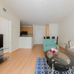 Апартаменты Downtown LA Inspiring Apartments комната для гостей фото 5