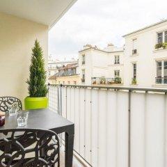 Отель Cosy Bastille Франция, Париж - отзывы, цены и фото номеров - забронировать отель Cosy Bastille онлайн балкон