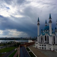 Гостиничный комплекс Гагарин Казань приотельная территория