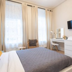 Отель Хостел Bloomsbury Rooms with Shared Bathrooms Великобритания, Лондон - отзывы, цены и фото номеров - забронировать отель Хостел Bloomsbury Rooms with Shared Bathrooms онлайн комната для гостей фото 5