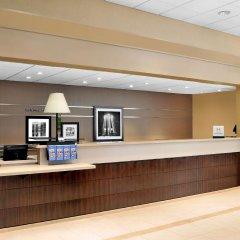 Отель Hampton Inn Manhattan-Times Square North США, Нью-Йорк - 1 отзыв об отеле, цены и фото номеров - забронировать отель Hampton Inn Manhattan-Times Square North онлайн интерьер отеля фото 3