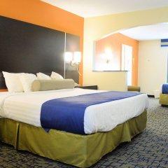 Отель Rodeway Inn Meridian комната для гостей