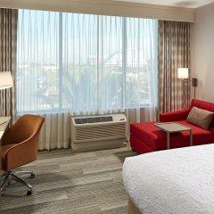 Отель Hampton Inn Long Beach Airport США, Эль-Монте - отзывы, цены и фото номеров - забронировать отель Hampton Inn Long Beach Airport онлайн комната для гостей фото 4