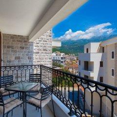 Отель Spaska Черногория, Будва - отзывы, цены и фото номеров - забронировать отель Spaska онлайн балкон