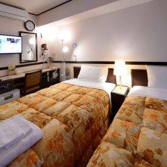 Отель Toyoko Inn Hakata-guchi Ekimae Япония, Хаката - отзывы, цены и фото номеров - забронировать отель Toyoko Inn Hakata-guchi Ekimae онлайн комната для гостей фото 4