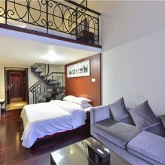 Апартаменты Bangtai International Apartment комната для гостей фото 5