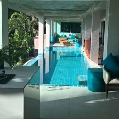 Отель Grand Bleu Ocean View Pool Suite бассейн фото 4