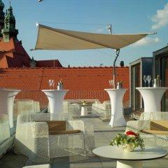 Отель Hyperion Dresden Am Schloss Германия, Дрезден - 4 отзыва об отеле, цены и фото номеров - забронировать отель Hyperion Dresden Am Schloss онлайн балкон