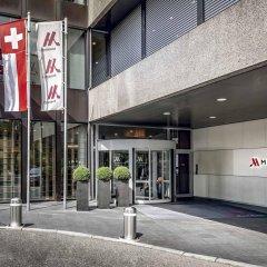 Zurich Marriott Hotel парковка
