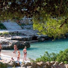Отель Apartamentos Mar Blanca пляж фото 2
