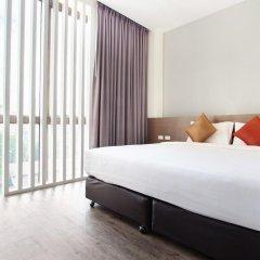 Отель D Varee Xpress Makkasan Таиланд, Бангкок - 1 отзыв об отеле, цены и фото номеров - забронировать отель D Varee Xpress Makkasan онлайн комната для гостей фото 4