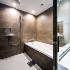 Отель Daiwa Roynet Hotel Ginza Япония, Токио - отзывы, цены и фото номеров - забронировать отель Daiwa Roynet Hotel Ginza онлайн ванная