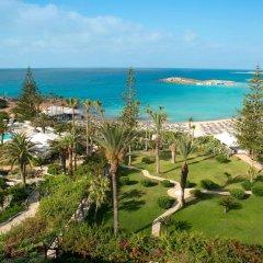 Отель Nissi Beach Resort пляж фото 2