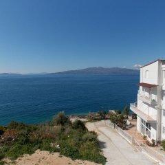 Отель Erioni Албания, Саранда - отзывы, цены и фото номеров - забронировать отель Erioni онлайн пляж фото 2